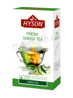 Hyson zelený čaj Fresh Green 20ks